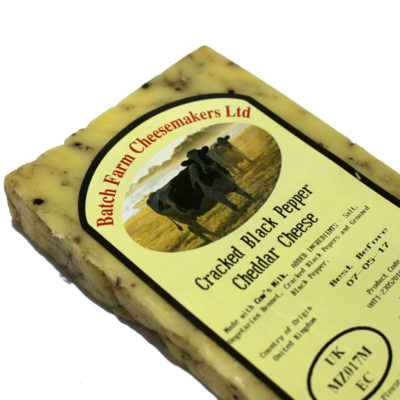 Cracked Black Pepper Farmhouse Cheddar