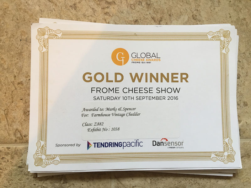 Awards Season with Gould's Cheddar