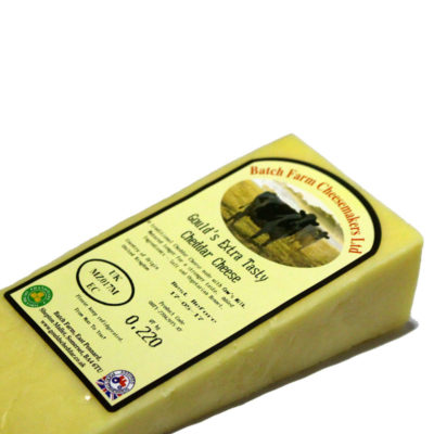 Hand Made Farmhouse Extra Tasty Cheddar Cheese