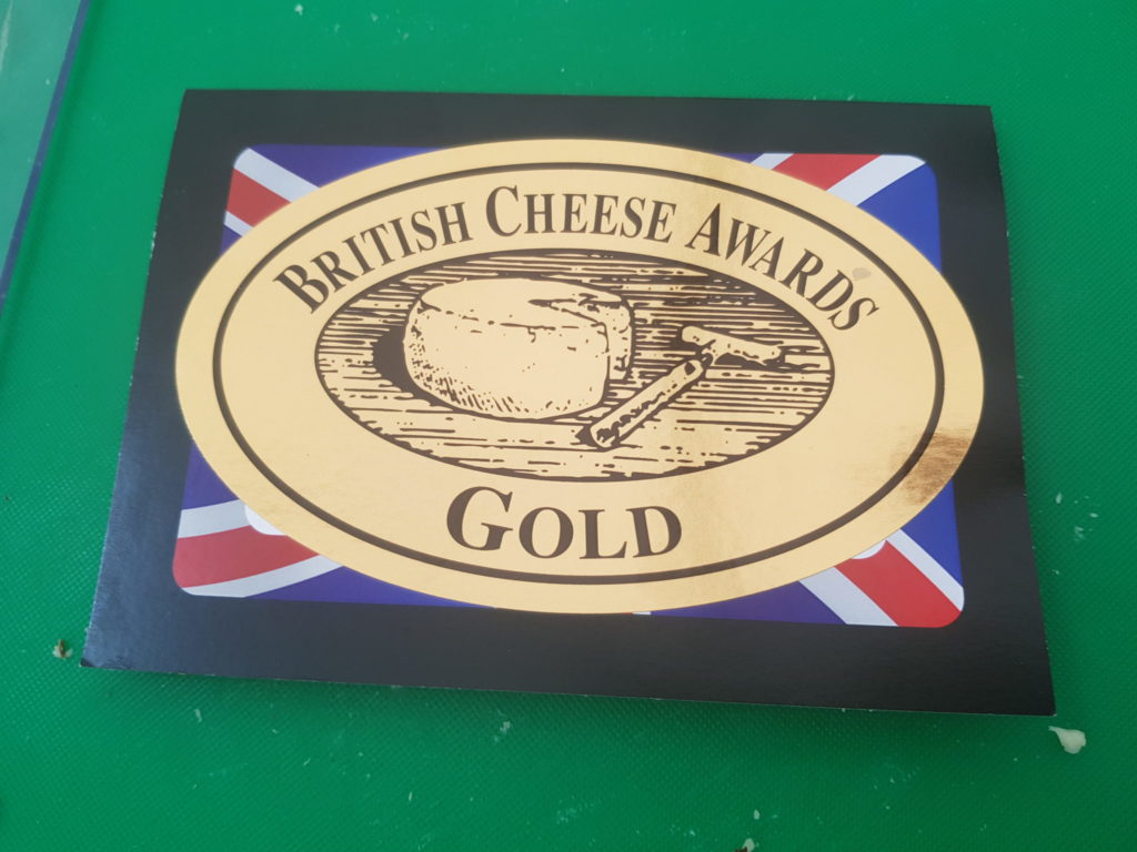 Gold for Gould's mature cheddar
