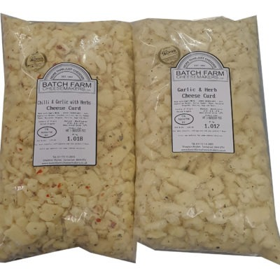 Garlic Lovers Cheese Curd Selection